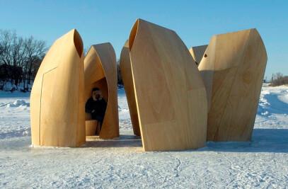 Winnipeg Skating Shelters