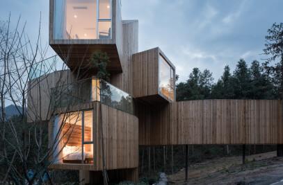 The Qiyun Mountain Tree House