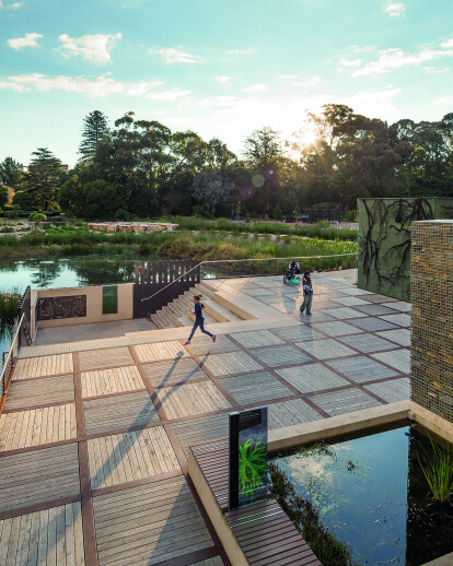 Adelaide Botanic Gardens Wetland