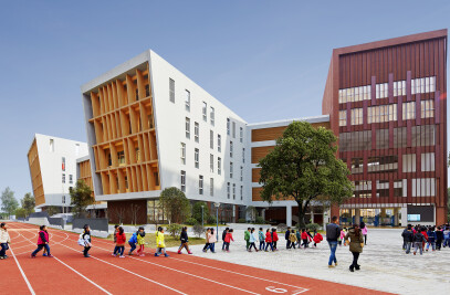HEFEI NO.45 MIDDLE SCHOOL FU RONG CAMPUS, RAYCOM CITY, HEFEI, CHINA