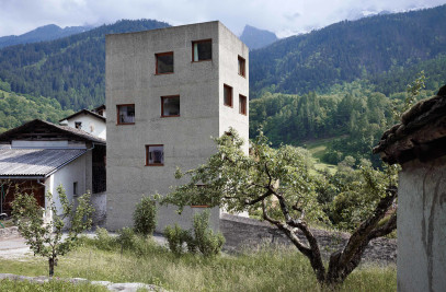 Extension and Renovation Villa Garbald