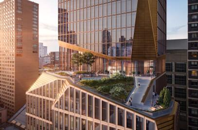 Residential building in Manhattan