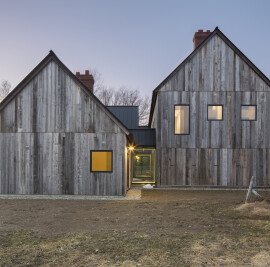 Three Barns and a Courtyard