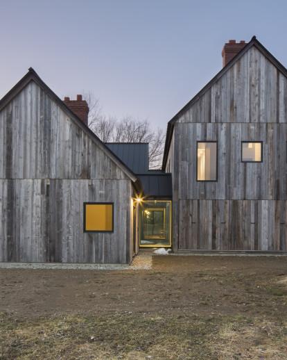 Three Barns and a Courtyard