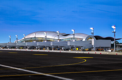 New Passenger Terminal at Franjo Tuđman International Airport Zagreb