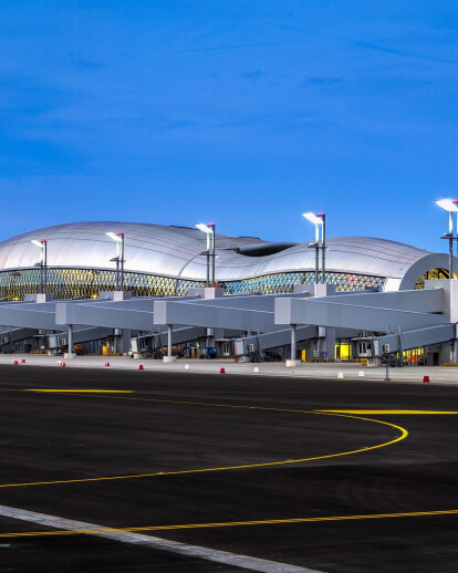 New Passenger Terminal at Franjo Tuđman International Airport Zagreb
