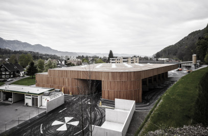 Waste Materials Collection Centre in Feldkirch