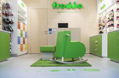 Kid's shoe store - Froddo