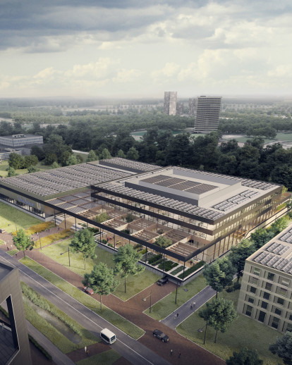 Global Foods Innovation Centre in Wageningen