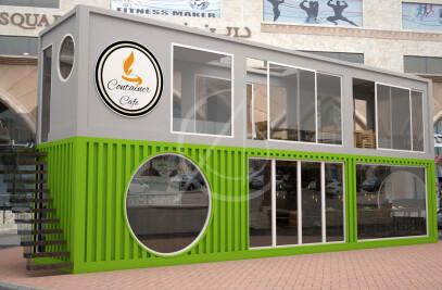 Cafe Container Design