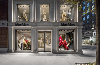 Max Mara boutique on Madison Avenue