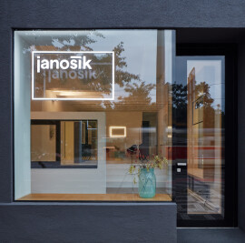 Janosik Design Window Showroom