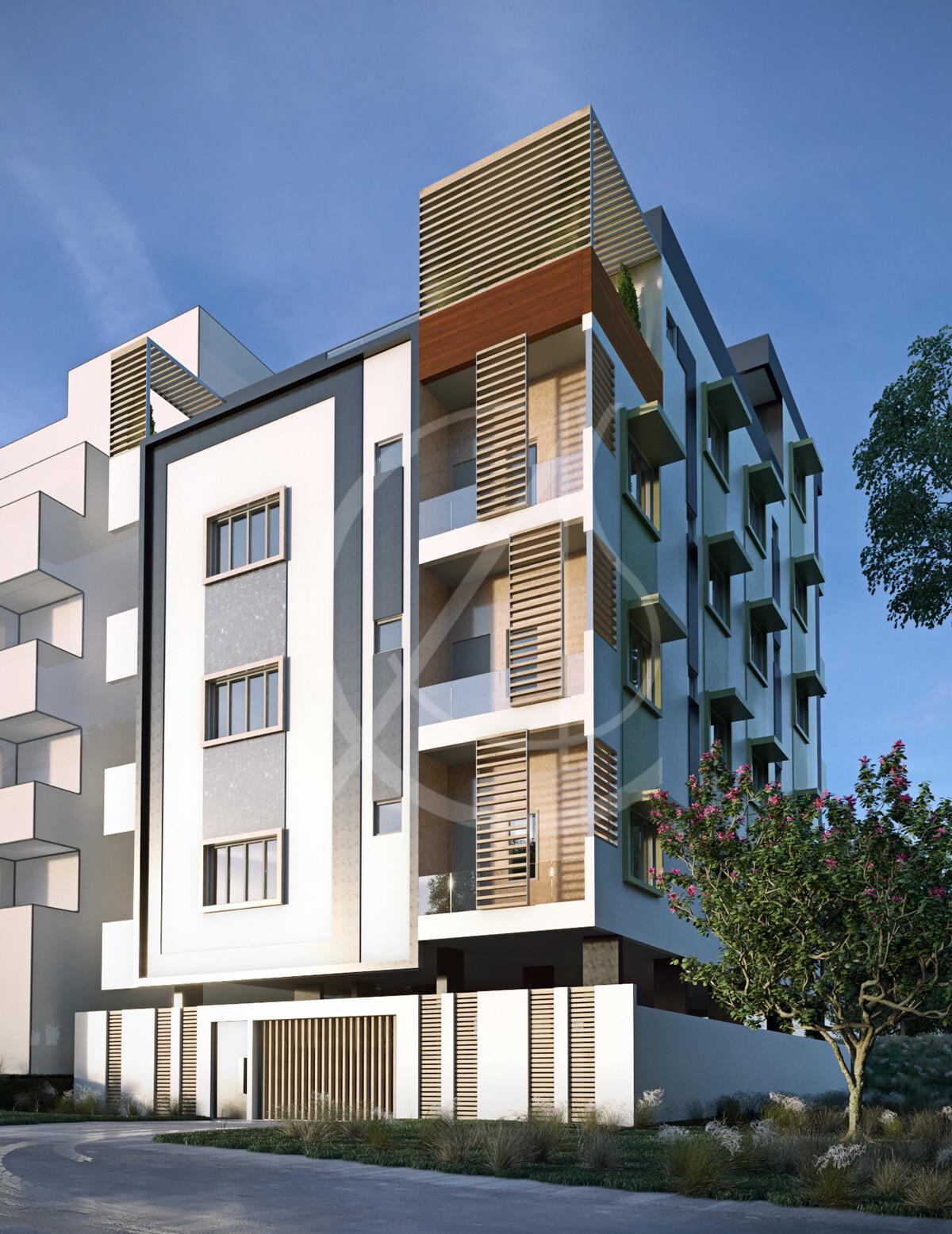 Modern Apartment Exterior Design Comelite Architecture Structure Rh Archello Com Pictures
