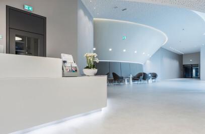 PURLINE organic flooring at the UK Münster
