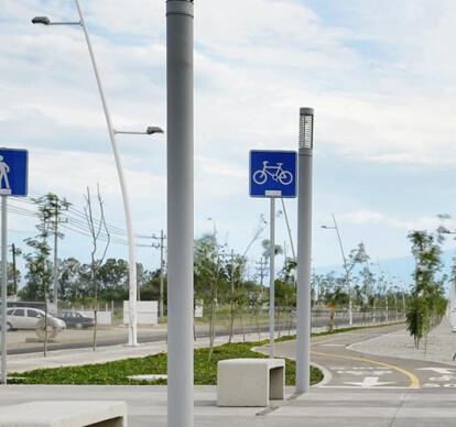 Public place signs