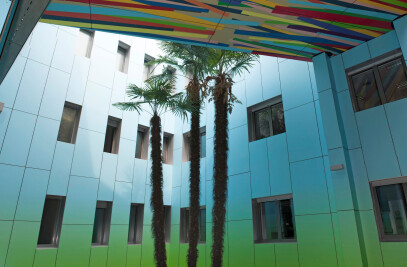 MEG Digital Print HPL façade panels