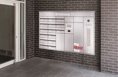 RENZ PLAN mail- and parcel box system