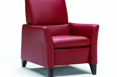 The Red Coco Armchair