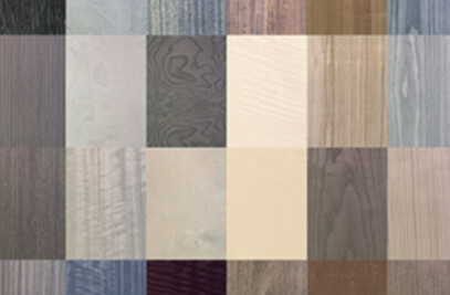 Natural dyed veneers, 2014 Collection