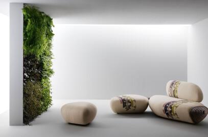 Sofa 'BOTAN' by Benedetta Tagliabue for Passoni Nature