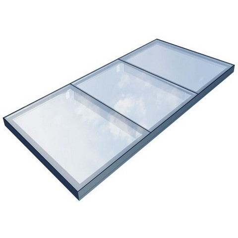 Flushglaze Modular Fixed Rooflight