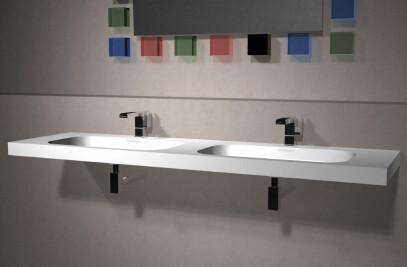 VisionFine Double Vanity
