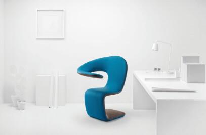 Aleaf armchair