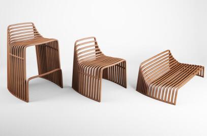 Wood seatings