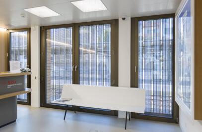 Trigo laths - sliding window shutters