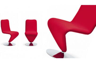 Swivel armchair F12-MD Line