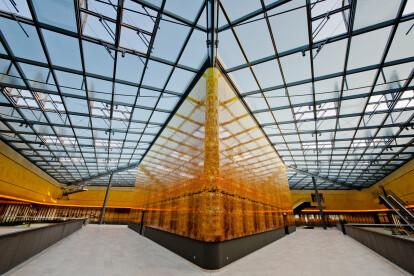 Glass roof Prefire Lux PR60