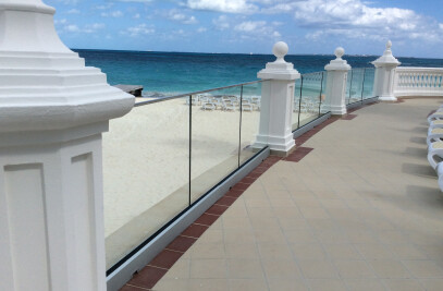 Glass Railing system TOTAL GLASS