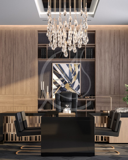 Modern Luxury CEO Office Interior Design | Comelite ...