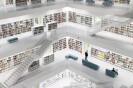 The new Municipal Library in Stuttgart