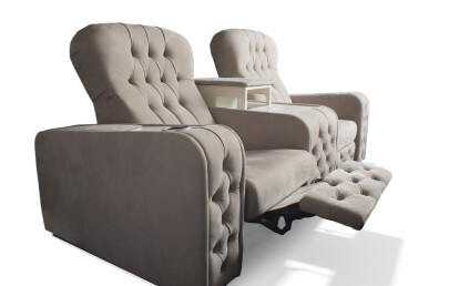 Chest Theater Seating and bar arm