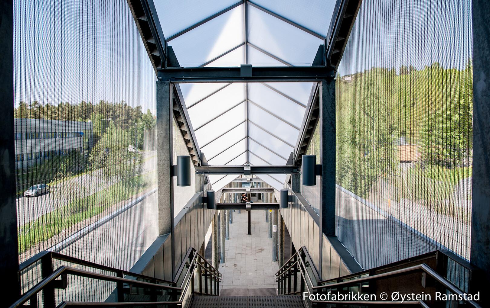 Ostfoldbanen Holmlia Holdeplasss
