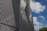 3D wire mesh facade by Haver & Boecker