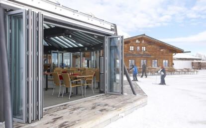 Zugspitze Mountain Restaurant - SL70 - Panels Opened