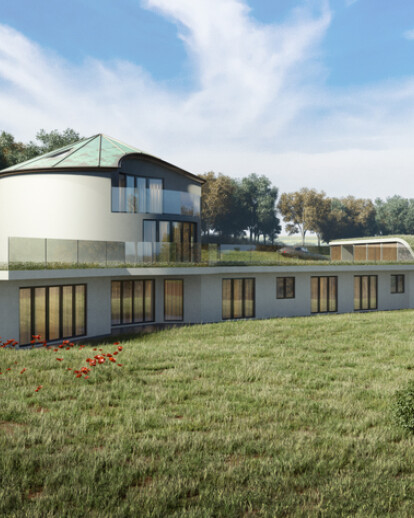 South Downs Eco House