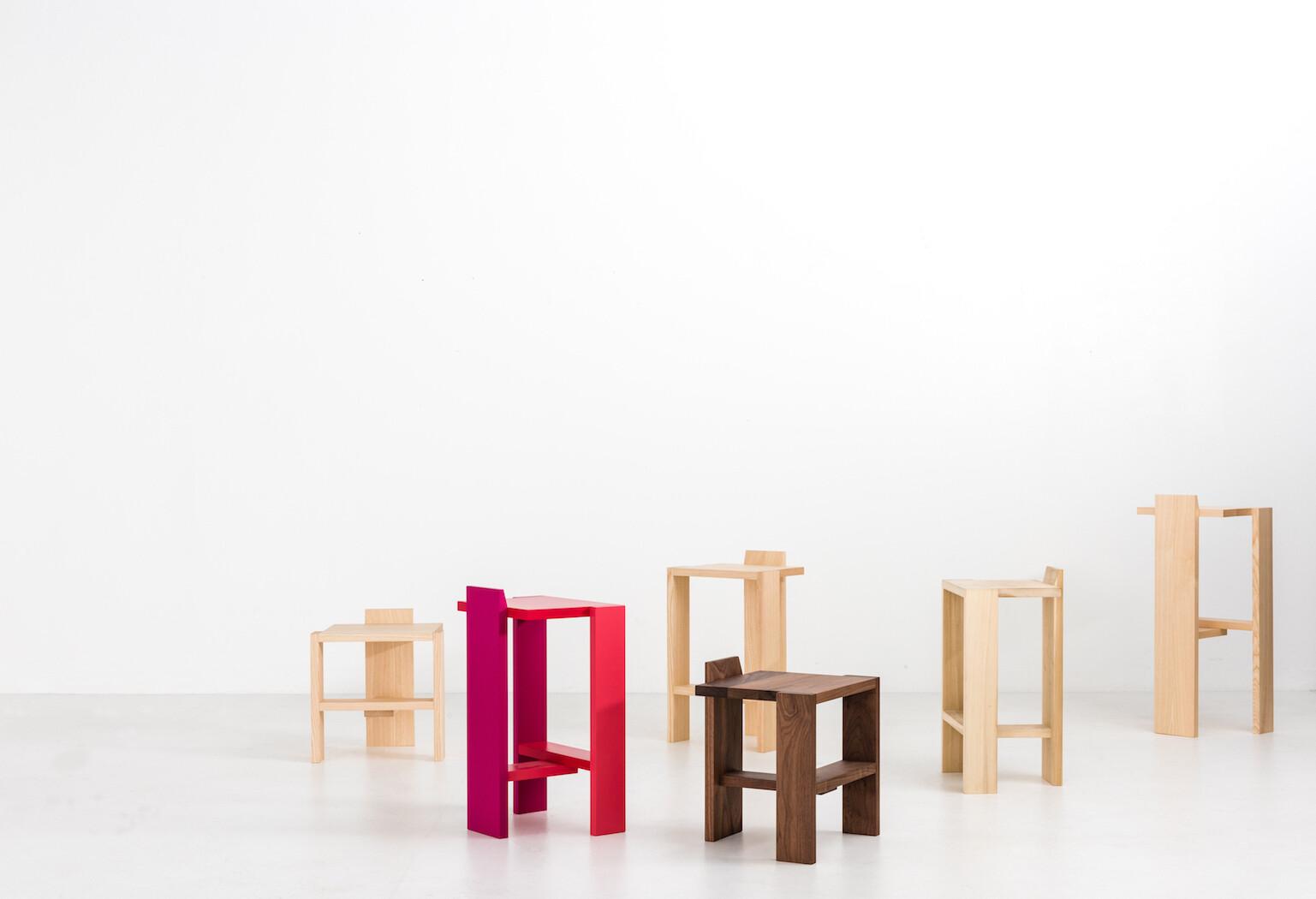 Sixplank chair