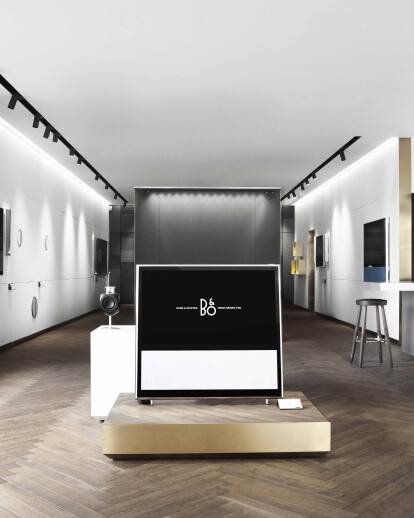 RETAIL DESIGN CONCEPT FOR BANG & OLUFSEN