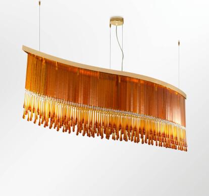 Dancer - Modern Murano Ceiling Lamp