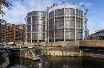 Gasholders London