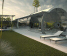Concrete Tube House