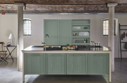 Mint Metalwood kitchen