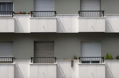 Special front facade in Barcelona
