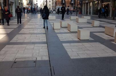Sparano street in Italy
