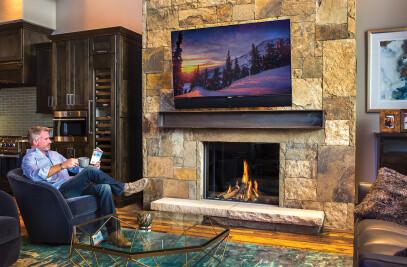 Modore 100H Fireplace