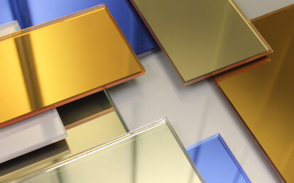 Glamir™ Colored Architectural Mirror Collection
