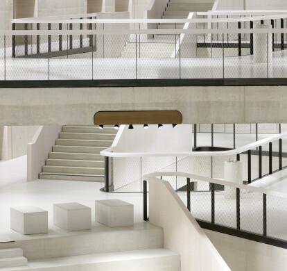 Metal mesh interiors